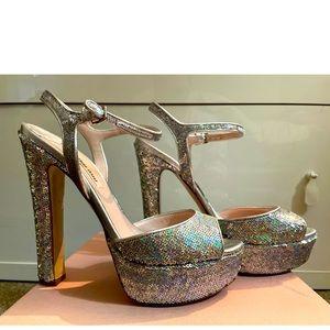 MiuMiu Calzature Donna Paillettes Shoes